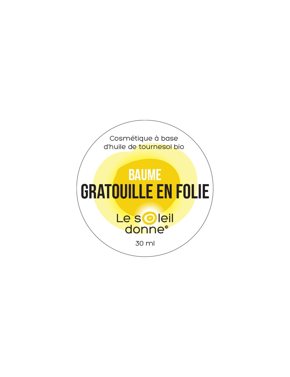Baume Gratouille en folie 30ml