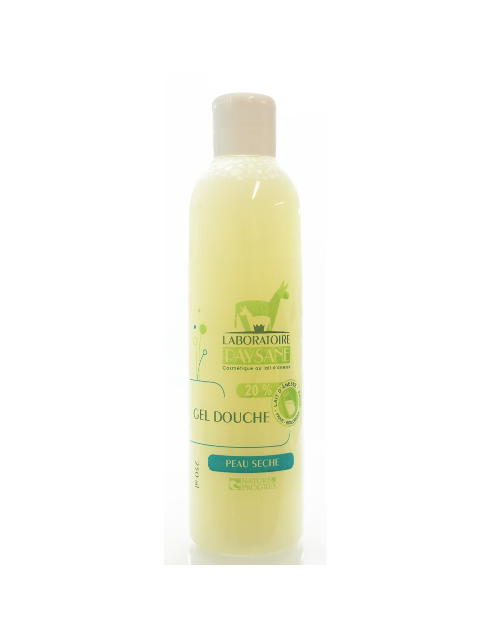 Gel douche au lait d'anesse 200ml